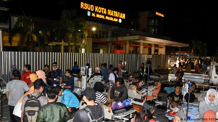 Indonesien nach dem Erdbeben in Lombok (Reuters/ANTARA FOTO)