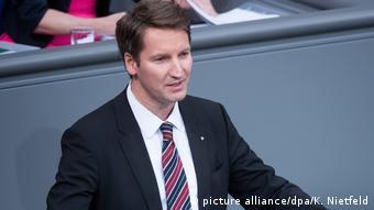 Ο Χριστιανοδημοκράτης βουλευτής Πάτρικ Σένσμπουργκ