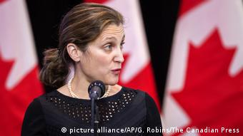 Kanadische Außenministerin Chrystia Freeland