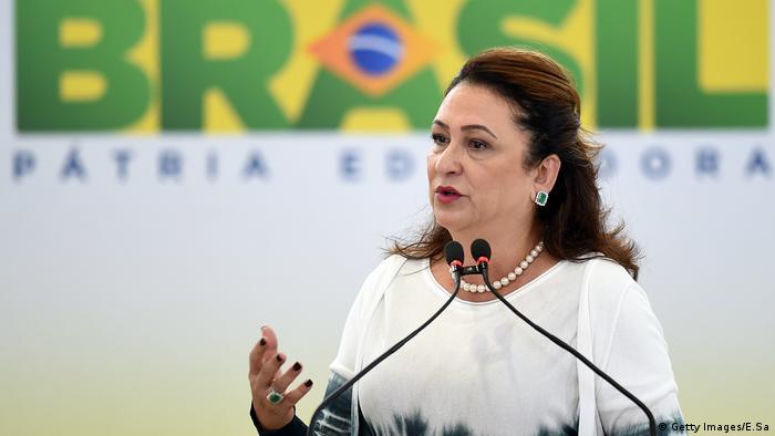 Kátia Abreu foi escolhida vice de Ciro Gomes