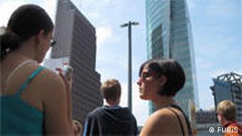 FUBiS: Sommeruni der FU Berlin (Berliner Mauer Tour) - Foto: FUBiS