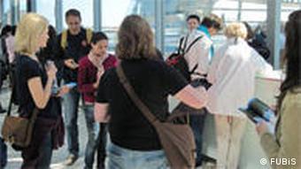 FUBiS: Sommeruni der FU Berlin (Exkursion zum Reichstag) - Foto: FUBiS