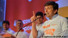 04.08.2018 Kandidat João Amoêdo, Brasilien, Wahlen 2018