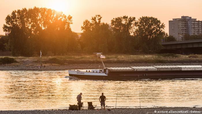 Ψαράδες στο Ρήνο
