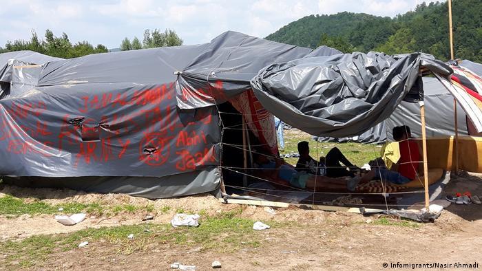 Gewalt gegen Flüchtlinge durch kroatische Grenzpolizei