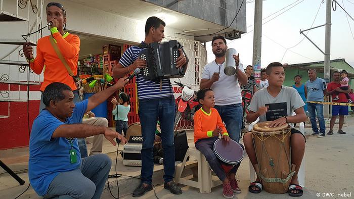 DW Akademie Vokaribe a la Calle in Kolumbien