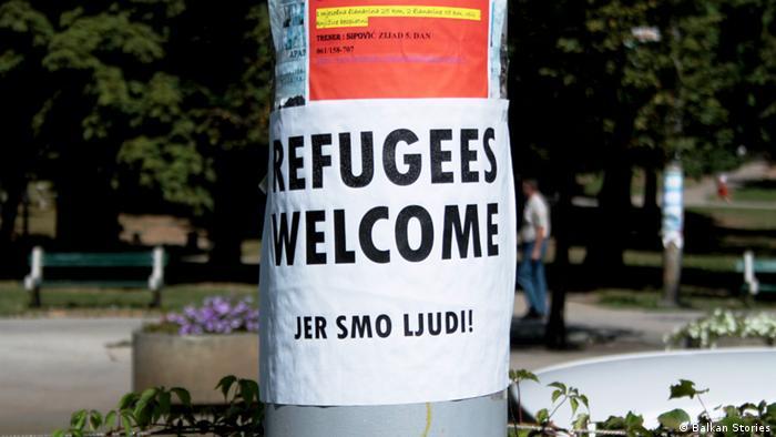 Österreich Wien Bosnische Diaspora mahnt Landsleute