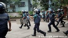 Bangladesch Schüler-Protest