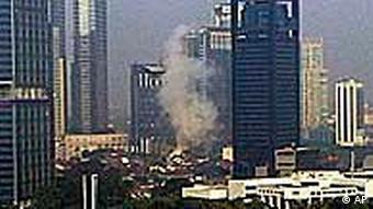 Luxushotels in Jakarta im Juli 2009 (Foto: AP)