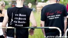 Deutschland Symbolbild Rechte Szene