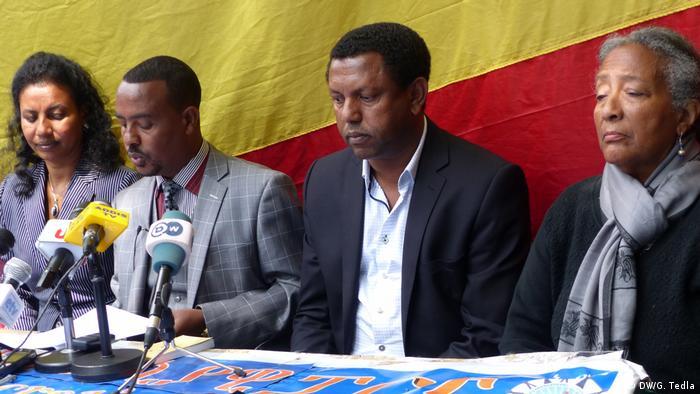 Äthiopien Pressekonferenz EDP in Addis Abeba
