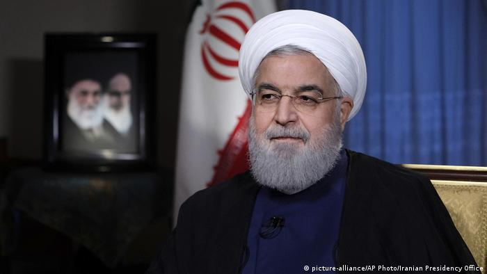 El presidente de Irán Hassan Rouhani (picture-alliance/AP Photo/Iranian Presidency Office)