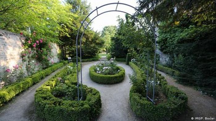 La Ruta Románica, Jardines del Monasterio de Drübeck