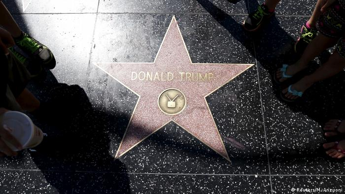USA Walk of Fame Stern von Donald Trump (Reuters/M. Anzuoni)