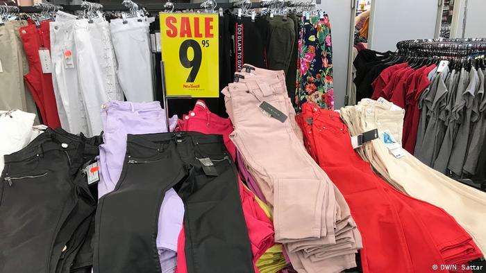 Sterta spodni w sklepie