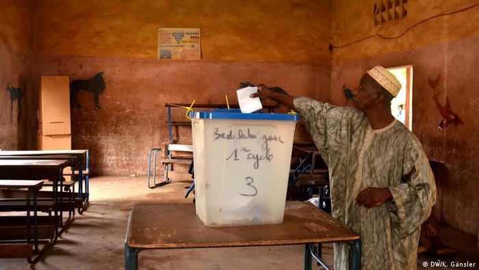Mali Stichwahl Wähler