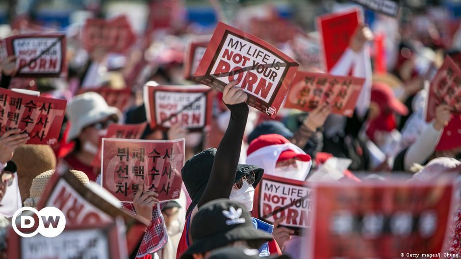 South Korea fails to tackle digital sex crimes, HRW says | DW | 16.06.2021