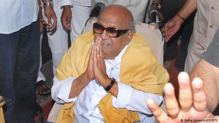 Indischer Präsident Muthuvel Karunanidhi ist tot