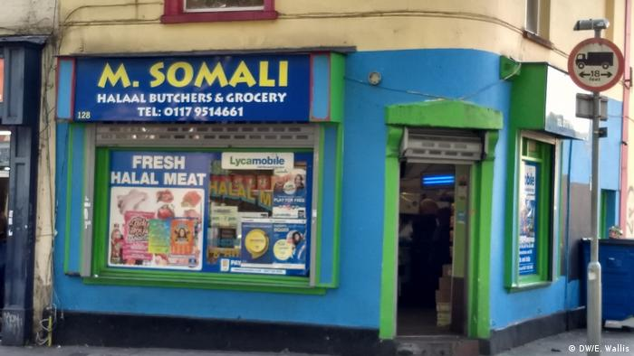 A Somali shop in the east of Bristol where the majority of the Somali community live (DW/E. Wallis)