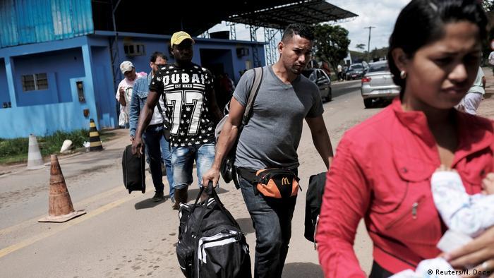 Brasilien Gericht öffnet Grenze für Flüchtlinge aus Venezuela