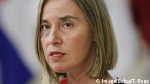 EU High Representative of the Union for Foreign Affairs and Security Policy, Federica Mogherini pictured during an EU summit meeting, Thursday 28 June 2018, at the European Union headquarters in Brussels. PUBLICATIONxINxGERxSUIxAUTxONLY THIERRYxROGE 05373761