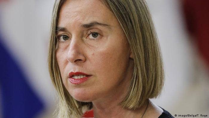 Europa Federica Mogherini (imago/Belga/T. Roge)