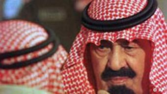 Kronprinz Abdullah von Saudi Arabien