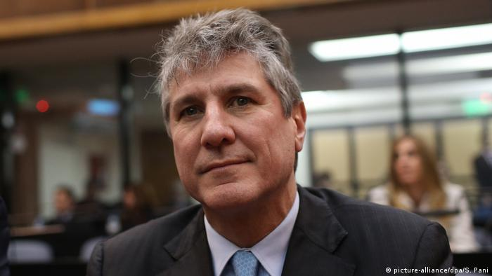 Former Argentinian Vice President Amado Boudou