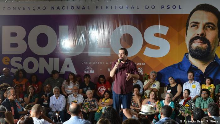 Brasilien, Sao Paolo: Guilherme Boulos (Agência Brasil/R. Riosa)
