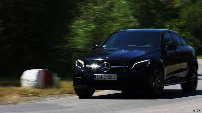 Online-Startbilder für die Sendungen Motor mobil, drive it, al volante: Mercedes GLC (DW)