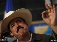 Manuel Zelaya: por cualquiera de los puntos fronterizos.