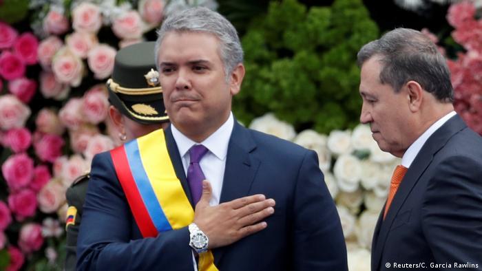 Iván Duque jura como presidente de Colombia y anuncia reformas   Colombia  en DW   DW   07.08.2018