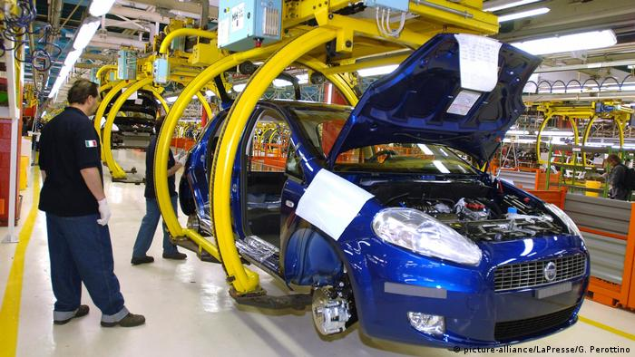 The car industry in Italy is dominated by Fiat Chrysler, the world's eighth biggest auto maker