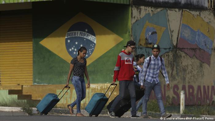 Brasilien Grenze zu Venezuela wieder offen