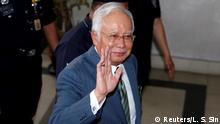 08.08.2018 Malaysia's former prime minister Najib Razak arrives in court in Kuala Lumpur, Malaysia August 8, 2018. REUTERS/Lai Seng Sin TPX IMAGES OF THE DAY