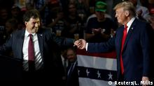 USA Troy Balderson und Donald Trump