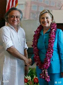 Clinton in Indien