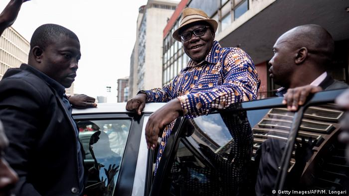 Simbabwe Tendai Biti, Oppositioneller & ehemaliger Finanzminister (Getty Images/AFP/M. Longari)