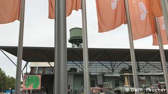 Die Bochumer Jahrhunderthalle von außen