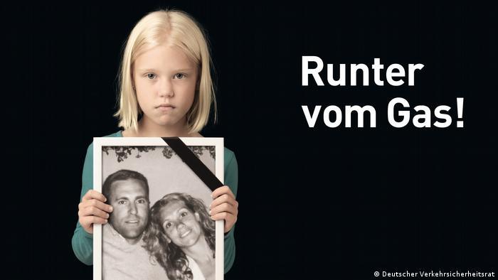 Шокова реклама проти перевищення швидкості на німецьких автобанах