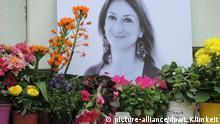 Sechs Monate nach dem Anschlag auf maltesische Journalistin Daphne Caruana Galizi