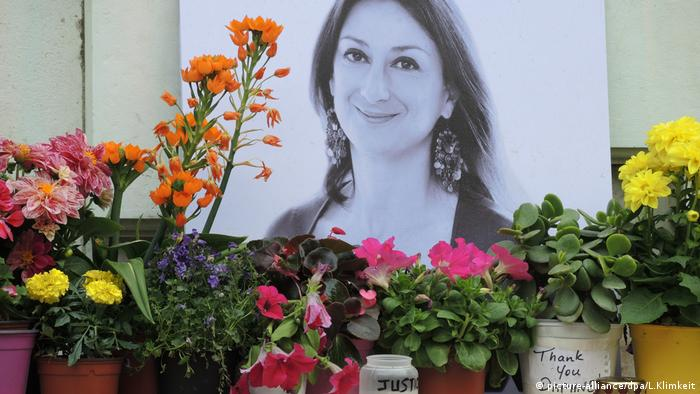 Daphne Caruana Galizia, Malta