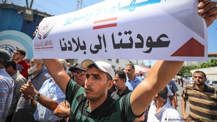 Israel Palästina UN-Hilfswerk UNRWA in Gaza