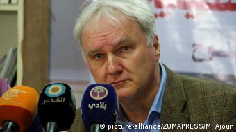 Ματίας Σμάλε UNRWA