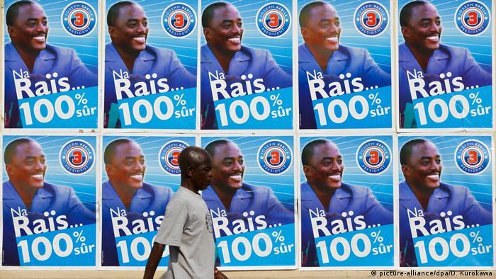 Próxima eleições não contarão com Kabila