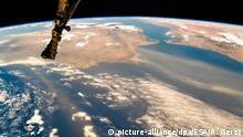 Portugal aufgenommen aus der ISS