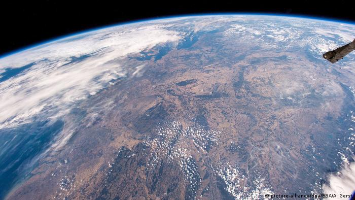 A picture of earth from space