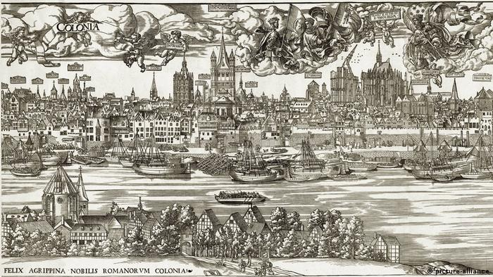 Гравюра Антона Вёнземана (Anton Woensam, 1531 год)