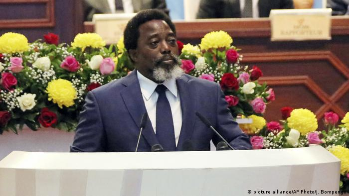 Kongo Joseph Kabila (picture alliance/AP Photo/J. Bompengo)