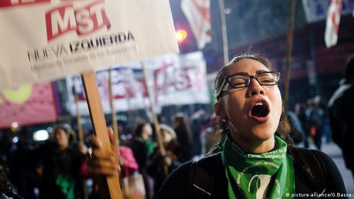 Argentinien, Abstimmung über Abtreibung